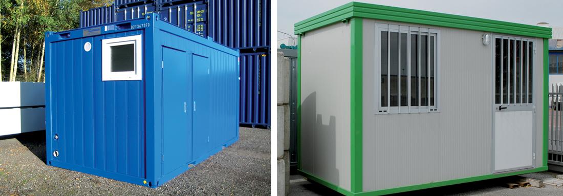 Attrezzature box ufficio e container chisini sas for Attrezzi per ufficio